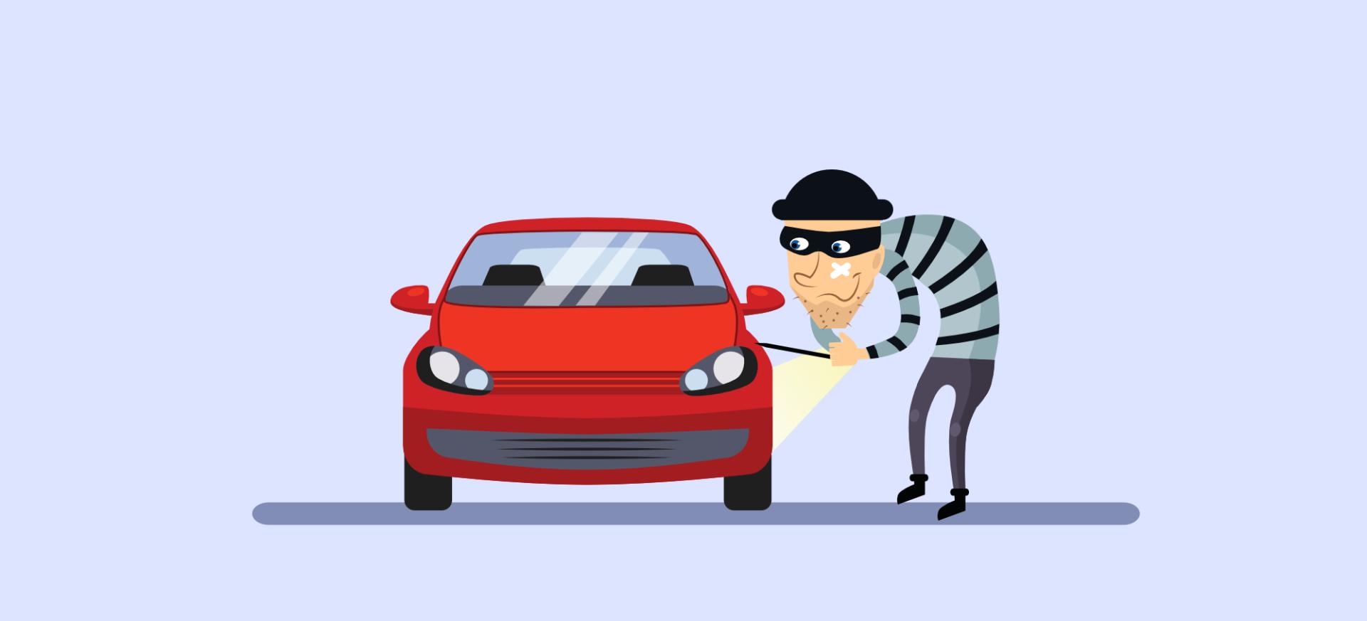 Ukradli mi auto. Čo teraz?